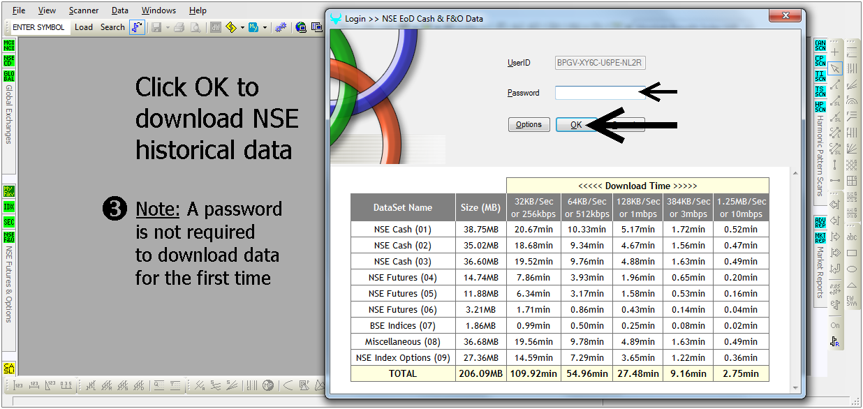 Download and Install EoD Historical Data